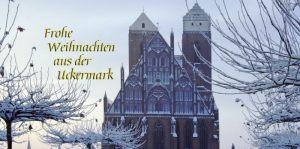020 Schneebedecktes Kloster Prenzlau